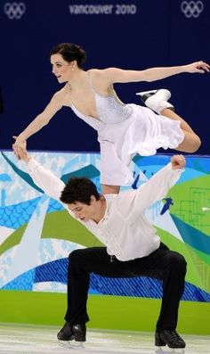Skating partners since 1997, Scott Moir and Tessa Virtue were the first North Americans to win Olympic ice dance gold.