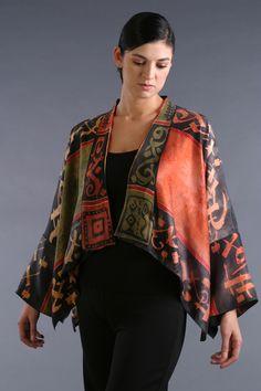 Kimono textile artist