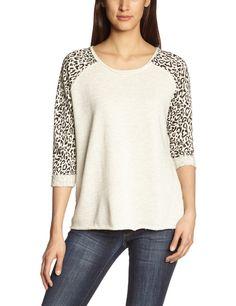 ONLY Damen Sweatshirt LEONA 3/4: Amazon.de: Bekleidung