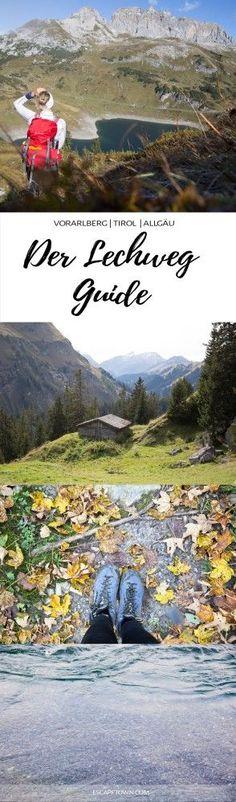 Weitwandern am Lechweg: Tipps und Infos zu Anforderungen, Etappen, Verpflegung und praktische Links für die Planung einer Mehrtagestour oder Tagestour.