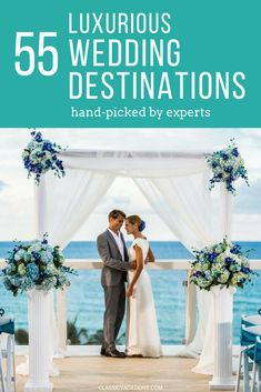 Stunning locations for destination weddings, hand picked by travel experts! Stunning locations for destination weddings, hand picked by travel experts! Beach Wedding Bouquets, Beach Theme Wedding Invitations, Beach Wedding Centerpieces, Beach Wedding Favors, Hawaii Wedding, Wedding Mexico, Wedding Dresses, All Inclusive Destination Weddings, Beach Wedding Locations