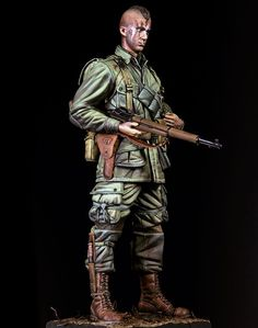 1//6 Scale British Cuir DMS boots-Deuxième guerre mondiale-GUERRE FROIDE