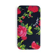 Betsey Johnson Floral iPhone 5 Case from LittleBlackBag