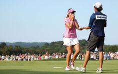 Lady Golfer meets Paula Creamer