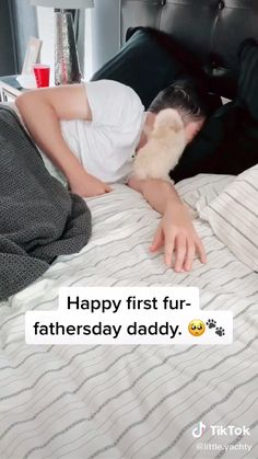 Happy Father's Day! ❤️ Baby Animals Super Cute, Cute Baby Dogs, Cute Little Puppies, Cute Funny Dogs, Cute Dogs And Puppies, Cute Little Animals, Cute Funny Animals, Doggies, Cute Babies