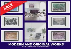 Looking for artwork for office or home? Pick from wide selection offered. Don't wait- get you Christmas order in! Seed Bead Jewelry, Seed Beads, Modern Wall Decor, Acrylic Painting Canvas, Etsy Seller, Gallery Wall, Colours, The Originals, Creative