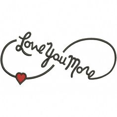 Love You More Infinity Symbol With Heart Filled Machine Embroidery Digitized Design Pattern – Broderies créatives Infinity Tattoo Designs, Free Tattoo Designs, Flower Tattoo Designs, Infinity Tattoos For Couples, Infinity Symbol Tattoos, Infinity Butterfly Tattoo, Infinity Love Tattoo, Dream Tattoos, Love Tattoos