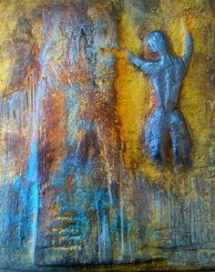 Pintura decorativa, Muros,Decoración y algo mas...: Decoración y manualidad del taller Art&Deco Art Deco, Painting, Contemporary Wall Art, Decorative Wood Painting, Canvas Paintings, Art Sculptures, Buddha Decor, White Lead, Peruvian Art