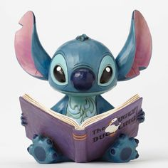 Disney Traditions Jim Shore STITCH with Ugly Duckling Storybook Figurine 4048658 | eBay