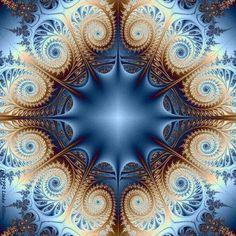 Fractalus Fractal by Allison Art