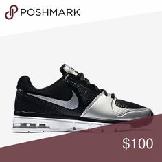 Nike volleyball max air black silver tennis shoes Brand new without box. Size 12. Nike training extreme volley. Engineered to the exact specifications of championship athletes. Toe traction, Max air, and hyper fused. I think these would be a size 10 in men's sizing. Nike Shoes Sneakers