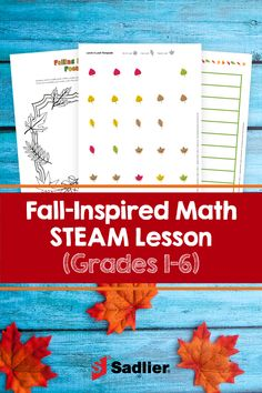 Whether or not your area has beautiful autumn foliage, this lesson includes everything you need to do these fall STEAM math activities in your classroom. It includes templates for sorting charts, pictographs, bar graphs, poem writing, and more. #STEMactivities #printables #fallactivities Autumn Activities, Stem Activities, Math Teacher, Teaching Math, Stem Steam, Bar Graphs, Math Resources, Autumn Inspiration, Grade 1