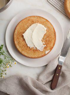 Recipe: Chamomile Cake with Honey Frosting