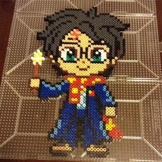 Harry Potter hama perler beads by perler_purrs