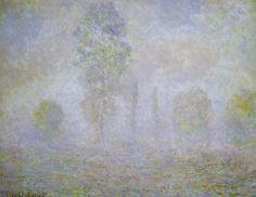 Brouillard matinal (C Monet - W 1196),1888.