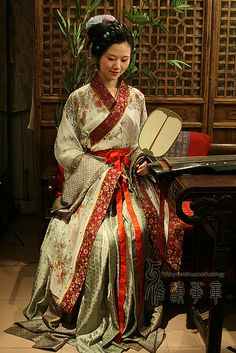 Ancient Chinese costumes  fashion