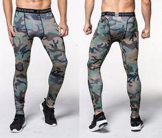 Camouflage Pants Men Fitness Mens Joggers Compression Pants Male Trousers Bodybuilding Tights Leggings Mma Pantalon Homme X Legging Sport, Sport Pants, Sports Leggings, Tight Leggings, Jogging, Mens Compression Pants, Men Trousers, Men Pants, Camouflage Leggings