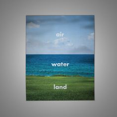 Montessori Mats — Air, Water and Land Mat