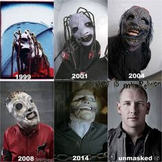 Corey Taylor and the evolution of the mask...