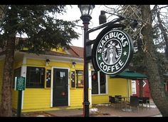 World's Coolest Starbucks Stores - frequented this one in Breckenridge! It is quite quaint