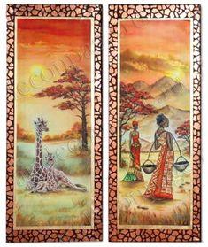 Рисовая бумагадля декупажа Африканские женщины, купить