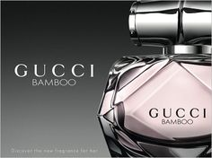 Gucci Bamboo Perfume.  This glorious new perfume is a perfect mix of floral and woody notes but intense, graceful and gentle at the same time. We love & so do you - it was our number one best seller Christmas 2015.