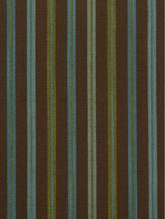 Chocolate Striped Cotton Fabrics - mediterranean - Upholstery Fabric - Denver - Cheery Curtains