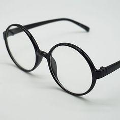 Women Men Glasses Round Eyeglasses Vintage Retro Eyewear Reading Spectacle PG2B