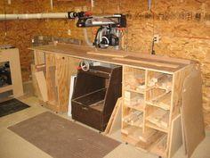 scrap lumber storage
