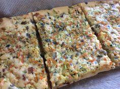 Gemüse-Speck-Pfannkuchen vom Blech von Katala auf www.rezeptwelt.de, der Thermomix ® Community
