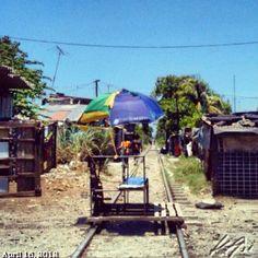 まだ乗った事が無い #トロッコ #railway #philippines