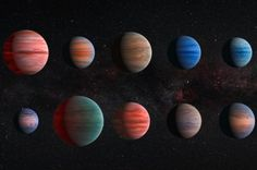 The largest study ever conducted of the atmospheres of planets circling other stars has revealed how different they can be and explained why some appe...