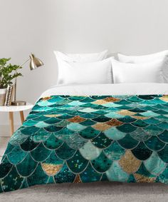 Look what I found on #zulily! Monika Strigel Really Mermaid Comforter #zulilyfinds