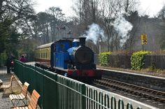 Steam train tour @ Lake District, Cumbria (UK)