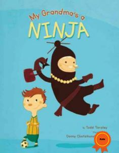 Ethan's grandma, who is a ninja, comes to visit, and her appearance at school makes Ethan the most popular kid in class. Recommended by Kate