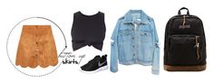"""school: 8"" by martimonet on Polyvore"