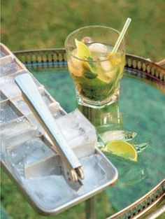 Mojito recipe - Food and Home Entertaining Magazine Alcoholic Drinks, Cocktails, Mojito Recipe, Five Ingredients, Wine Parties, Lime Wedge, Daiquiri, Lime Juice, Party Planning