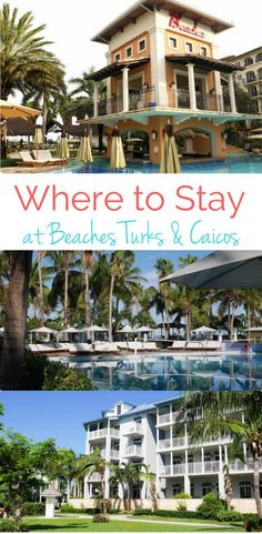 Beaches Turks & Caicos: A review of the lodging options so you can decide where to stay on your next family all-inclusive vacation.