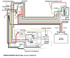 Electrical Wiring : Mercury Outboard Trim Gauge Wiring Diagram How To Install Fo Johnson