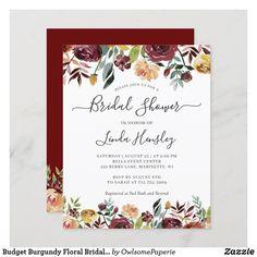 Bridal Luncheon Invitations, Rustic Bridal Shower Invitations, Couples Shower Invitations, Bridal Shower Rustic, Bridal Shower Gifts, Rustic Wedding, Invites, Birthday Invitations, Floral Invitation