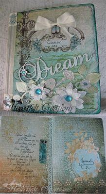 Heartfelt Creations   Fancy Dreams Journal