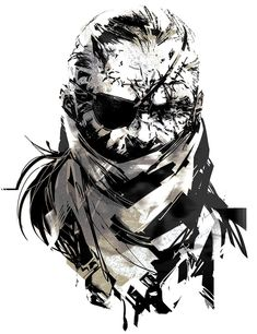 Metal Gear Solid V - Big Boss, Keffiyeh