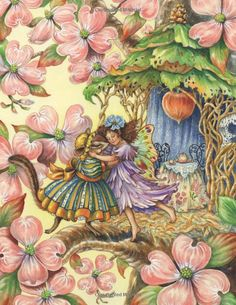 Enchanting Fairies: How To Paint Charming Fairies and Flowers: Barbara Lanza: 0035313642975: Amazon.com: Books
