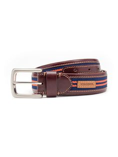 Virginia Cavaliers Men's Tailgate Belt by Jack Mason