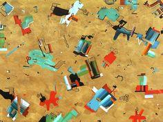 Alphabet Soup - Fun Miró Inspired Abstract