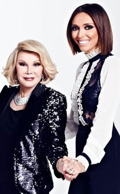 """Giuliana Rancic Remembers Joan Rivers as a """"Truly Beautiful Person"""" and """"True Genius"""" Fashion Police, Joan Rivers, Giuliana Rancic Giuliana Rancic, Beautiful Person, Beautiful Soul, Funeral, Queens Of Comedy, Joan Rivers Jewelry, Sheer Beauty, Only Fashion, Celebs"""