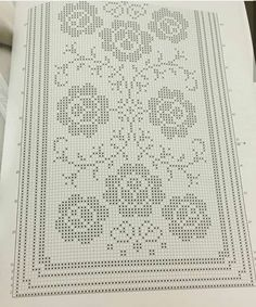 Interior design business brand building (Pattern) - Crochet Filet