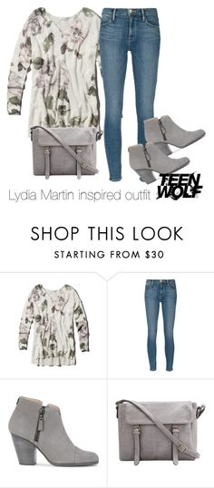 """""""Lydia Martin inspired outfit/TW"""" by tvdsarahmichele ❤ liked on Polyvore featuring Abercrombie & Fitch, Frame Denim and rag & bone"""