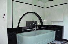 1000 images about art deco bathroom on pinterest art deco bathroom vintage tile and 1930s. Black Bedroom Furniture Sets. Home Design Ideas