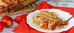 פשטידת פסטה עם ירקות   מתוקים ומאפים - ענבל רוביןמתוקים ומאפים - ענבל רובין -